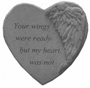 Memorial Stone - Your Wings Were Ready