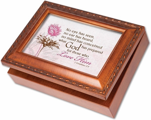 Musical Memory Box - No Eye Has Seen - Engravable
