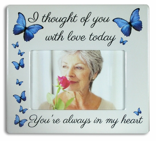 Memory Frame - I Thought Of You With Love Today