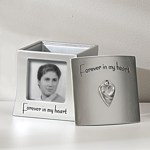 Memory Frame Keepsake Box - Forever In My Heart