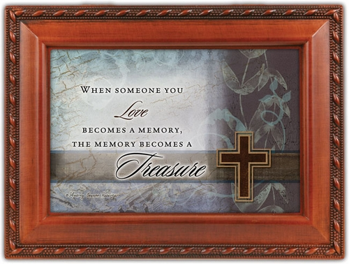 Memory Music Box Sympathy Gift - When Someone You Love
