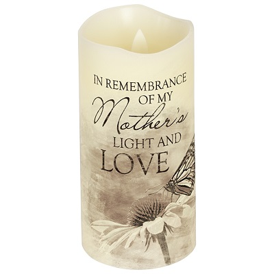 Mother Flameless Memorial Candle