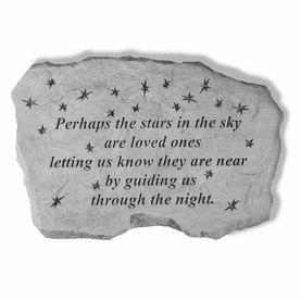 Perhaps The Stars In The Sky - Sympathy Gift Stone