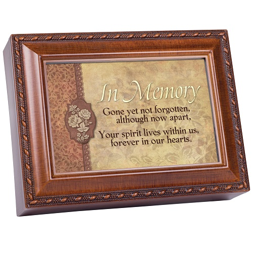 Personalized Keepsake Box - Not Forgotten