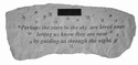 Personalized Memorial Bench - Perhaps The Stars