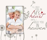 Personalized Memorial Frame - Hold You In My Heart