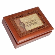 Personalized Memorial Music Box - Gone Not Forgotten