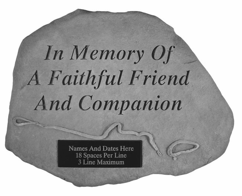 Personalized Memorial Stone - In Memory Of