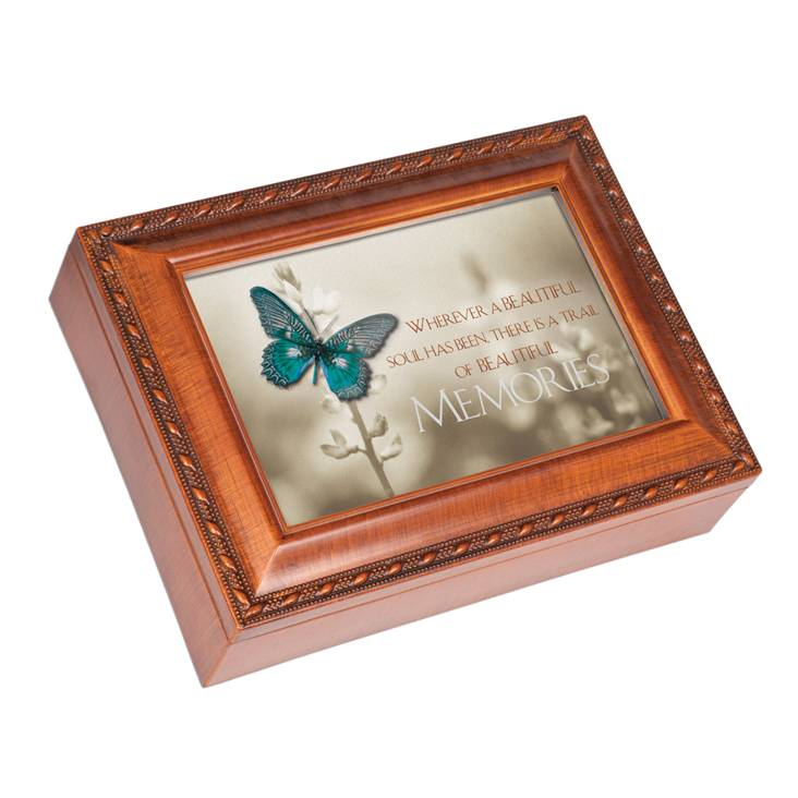 Personalized Music Memory Box - Beautiful Soul  sc 1 st  Heart to Heart Sympathy Gifts & Keepsake Boxes / Music Memory Boxes Aboutintivar.Com