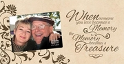 Personalized Remembrance Frame - Memory Becomes A Treasure