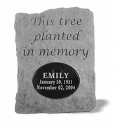 Personalized Tree Planting Memorial Stone