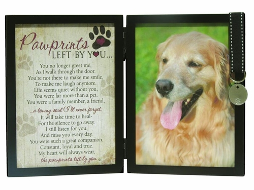 Pet Memorial Frame - Pawprints Left By You