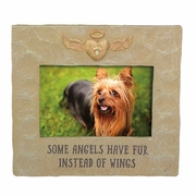 Pet Memorial Frame - Some Angels Have Fur