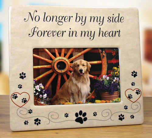 pet memorial photo frame - Dog Memorial Frame