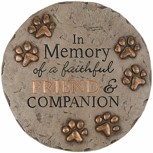 Pet Memorial Stone - Faithful Friend