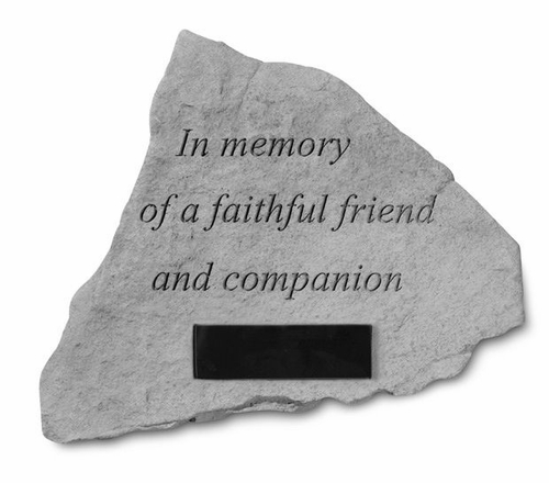Pet Sympathy Garden Stone - Personalized