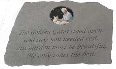 Photo Memorial Stone - Golden Gates