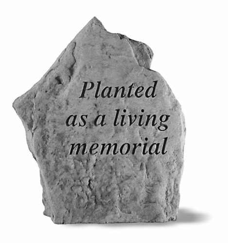 Plant Memorial - Planted As A Living Memorial