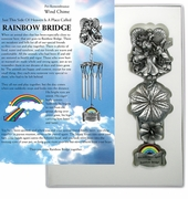 Rainbow Bridge Pet Memorial Chimes