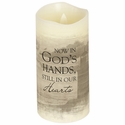 Remembrance Candle Flameless - God's Hands