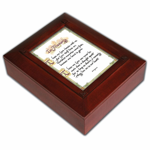 Remembrance Keepsake Memorial Box - In Memory