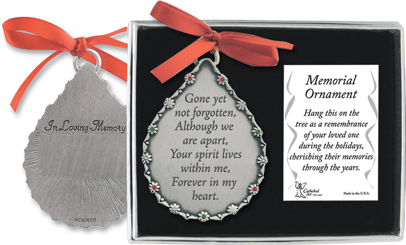 Remembrance Ornament Gone Yet Not Forgotten