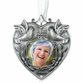 Remembrance Photo Ornament - In Our Hearts Forever