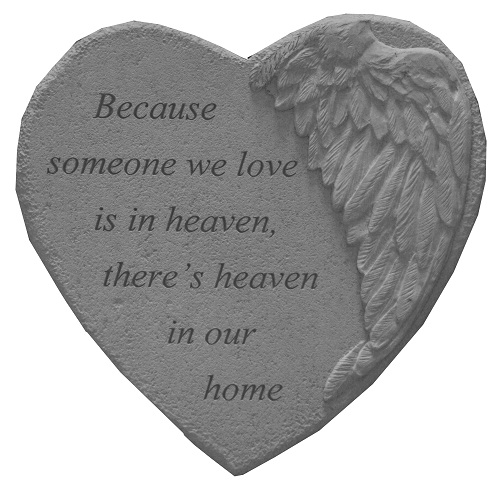Remembrance Stone - Because Someone We Love