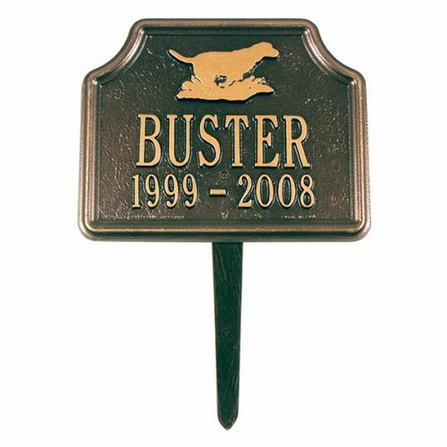Personalized Retriever Dog Marker
