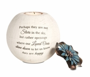 Sympathy Candle Holder � Perhaps They Are Not Stars