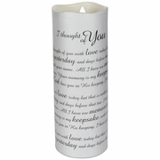 Sympathy Candle � I Thought Of You With Love