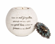 Sympathy Gift Candle Holder � Forever in my Heart