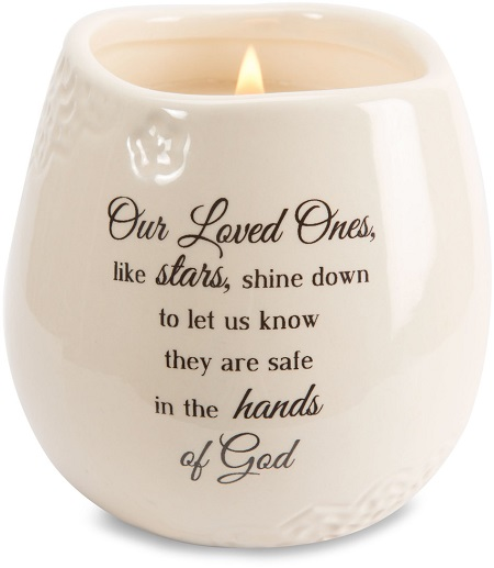 Appropriate Cash Gift For Wedding: Sympathy Gift Candle