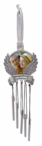 Sympathy Wind Chime - Your Wings Were Ready