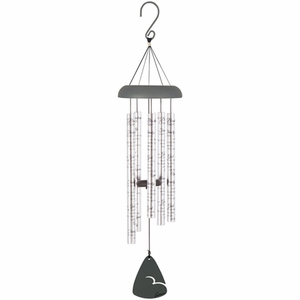 Sympathy wind chimes broken chain engravable for Wind chain online