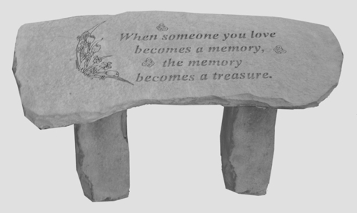 When Someone You Love... - Memorial Bench