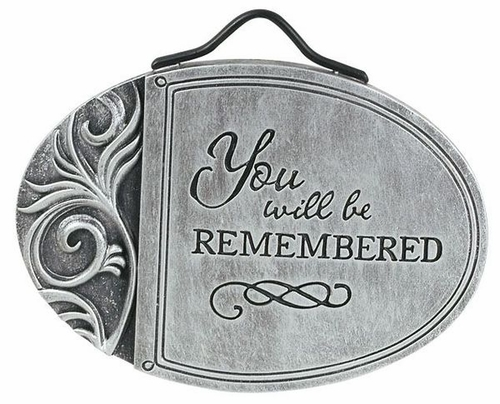 Memorial Stake - You Will Be Remembered