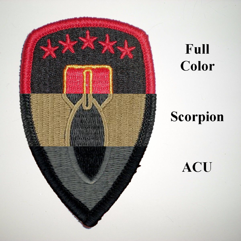 Army 71st Ordnance Group Patch