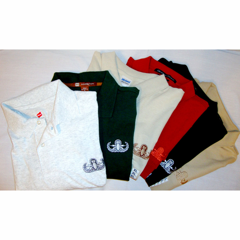 Assorted High Quality Golf Shirts - Basic Badge