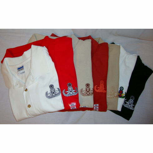 Assorted High Quality Golf Shirts - Master Badge