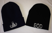 Embroidered EOD Beanie