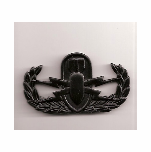 Black Superior Subdued Basic Pin