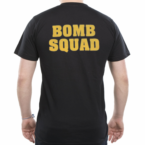 Back Print Only Bomb Squad T-shirt