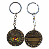 Color Coin Key Chain