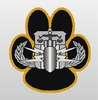 HDT Bomb Dog Decal