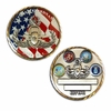 Four Services Challenge Coin