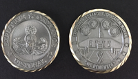 Nickel Plated Memorial Coin