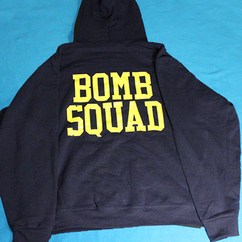 Bomb Squad hoodie with Master badge
