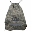 Drawsting ACU Print Bag with Emb Badge
