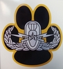 EOD Bomb Dog Badge Decal